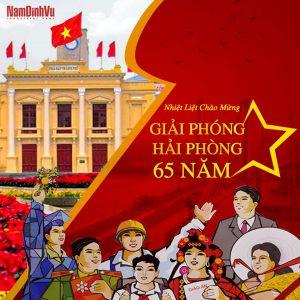 Chúc mừng 65 năm Giải Phóng Hải Phòng!!!