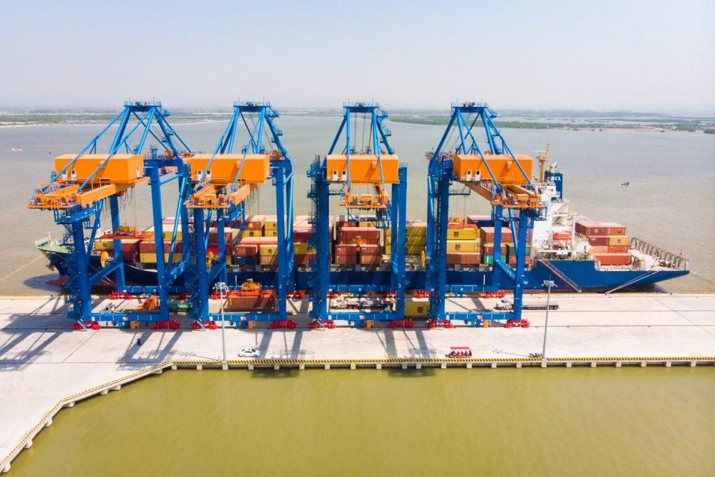 cảng biển kcn nam dinh vu