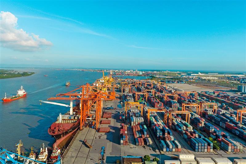 Cảng Tân Vũ chủ trương áp dụng công nghệ thông tin để đẩy mạnh kết nối