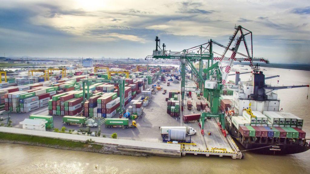 Vip Greenport tiêu biểu trong việc thực hiện mô hình cảng xanh tại Hải Phòng