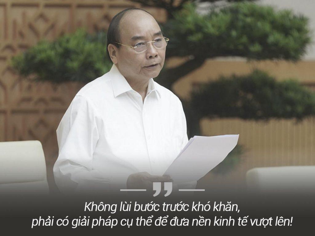 Thủ tướng nhấn mạnh Việt Nam phải có giải pháp đưa nền kinh tế đi lên