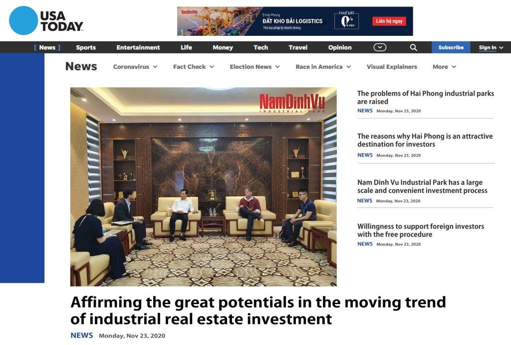 Tiềm năng đầu tư bất động sản công nghiệp Hải Phòng